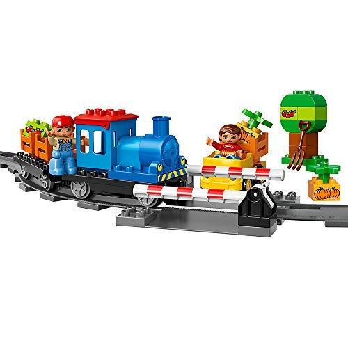LEGO DUPLO Town 10810 Push Train Building Kit (45 Piece) by LEGO