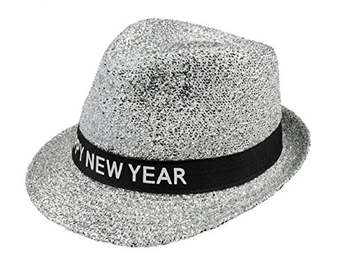 Boland 13450 Hut Sparkling Happy New Year, womens, One Size