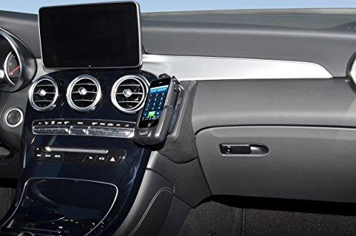 KUDA 2265 Halterung Kunstleder schwarz für Mercedes GLC ab 2016 (X253)
