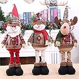 MICHAELA BLAKE 60cm de Santa Claus muñeco de Nieve Navidad muñecas para Party Supplies...