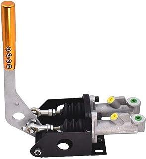 MDYHJDHYQ Handbrake Aluminum E-Brake Universal Racing Car Double Master Cylinder Hydraulic Handbrake Lever Drift Hand Brake (Color : Silver, Size : Free)
