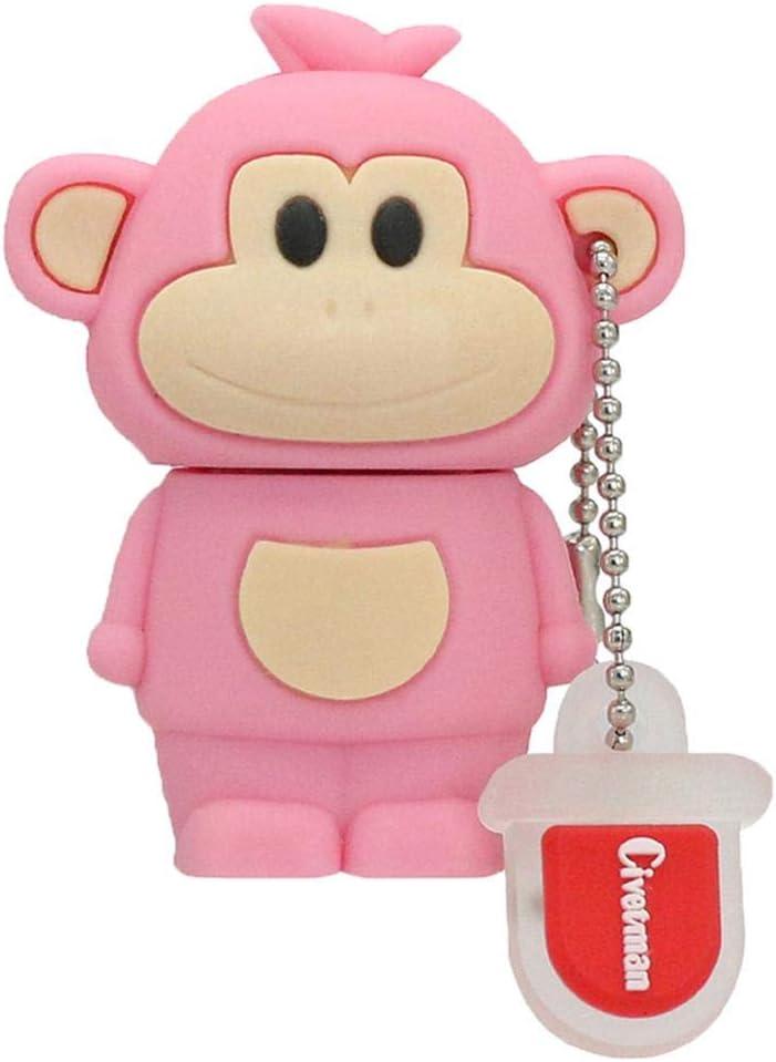 Pen Drive Zodiac Monkey 256GB Thu Cartoon USB Max 70% Courier shipping free shipping OFF Flash Memory