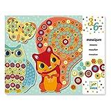 Djeco - Juego creativo Milfiori de imágenes de mosaico, diseño de animales del bosque, multicolor , color/modelo surtido