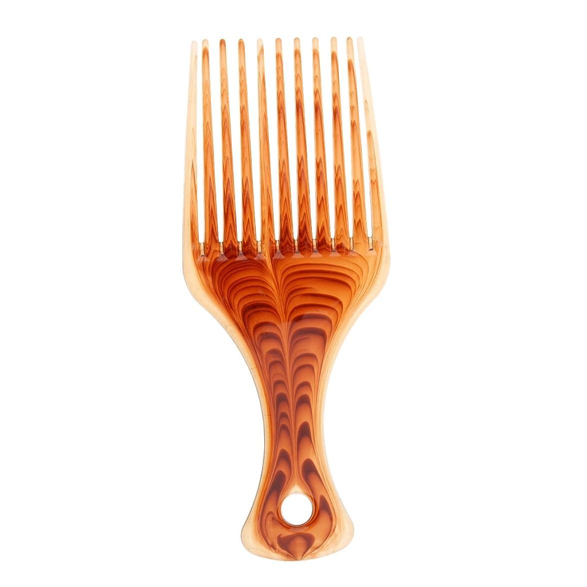 したい作り上げる同時ヘアブラシ ヘアコーム くし プラスチック製 アフロ 髪の櫛 持ち上げ ヘアブラシ