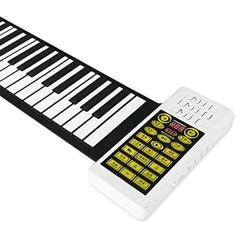 Flexible portable Teclado 88 llaves electrónicas balanceo d