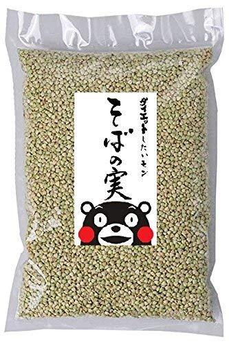 熊本 ( 阿蘇 ) 産 そばの実 ダイエット 低カロリー 無農薬 真空パック 便利チャック付 500g