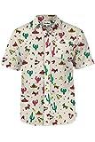 Men's Cantina Captain Hawaiian Shirt - Cinco de Mayo Button Down Aloha Shirt