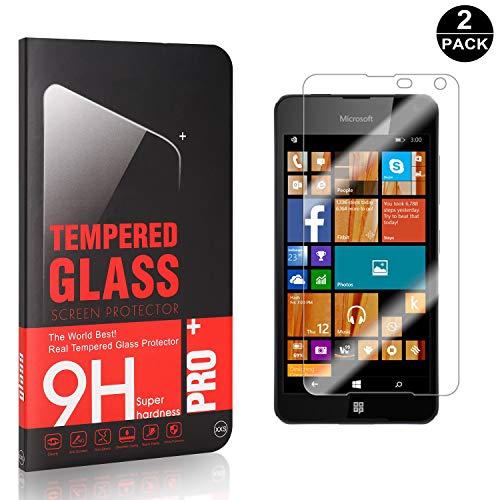 Bear Village® Protector de Pantalla Microsoft Lumia 650, Sin Burbujas, Anti rasguños...
