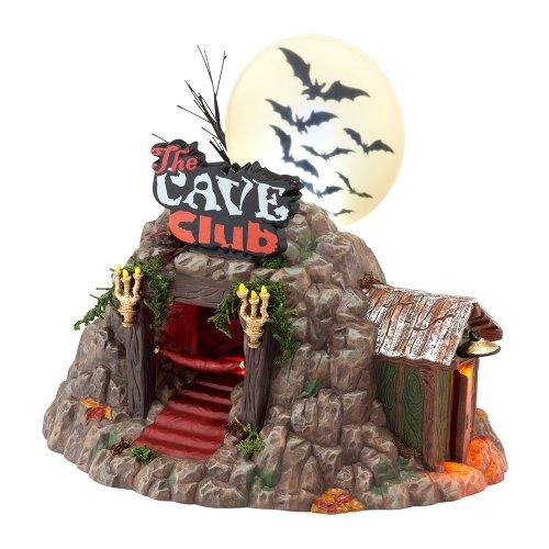 Cueva del Departamento de Halloween espeluznante Club 56 Village edificio nuevo en caja