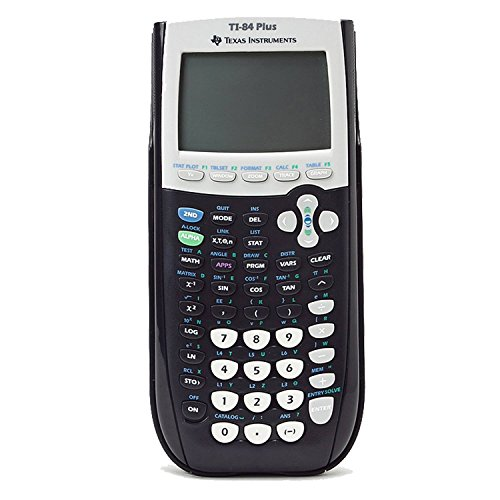 Texas Instruments Ti-84 Plus Graphing calculator - Black (Renewed)