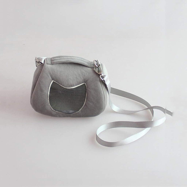Lxrzls Pet Hamster Bag,Pet Carrier Backpack Adjustable .Travel Shoulder Bag Pets