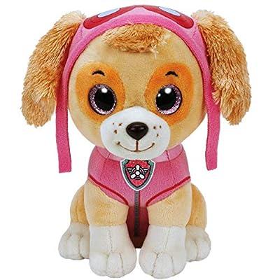 PAW PATROL Selección Figuras de Peluche con Ojos Brillantes | 24 cm | Patrulla Canina, Figura:Skye por Ty