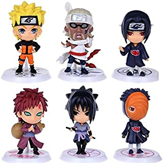 6pcs/set Naruto Good PVC Anime 19th Generation Naruto Model Toy Action figure For Decoration Collection Gift