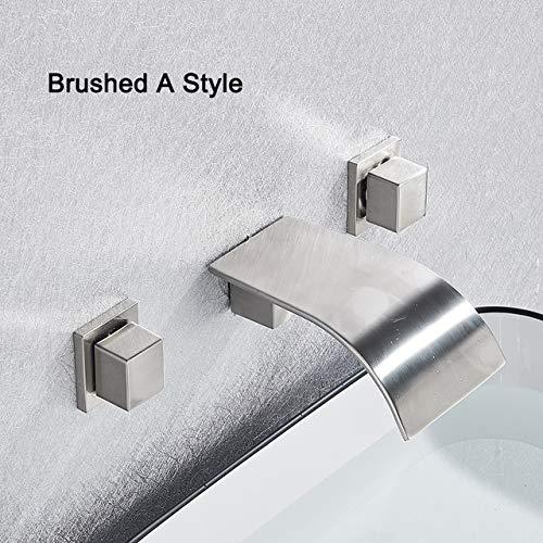 G0000D - Grifo para lavabo (estilo A/B, montaje en pared)