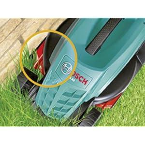 Bosch Rasenmäher Rotak 32 (1200 W, Grasfangbox 31 l, Schnittbreite: 32 cm, Schnitthöhe: 20-60 mm, im Karton)