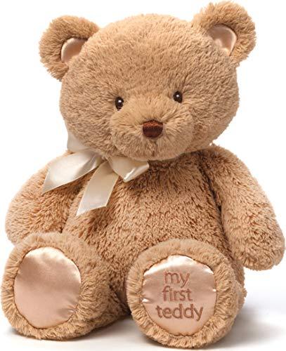 "Baby GUND My 1st Teddy Bear Stuffed Animal Plush, Tan 15"""