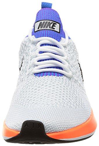 Nike Air Zoom Mariah Flyknit Racer, Zapatillas de Gimnasia Mujer, Blanco (.whitehyper Crimsonpure Platinum), 36.5 EU