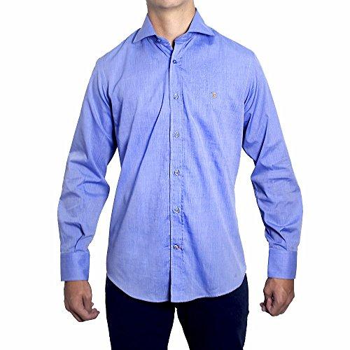 Peter Blade Chemise Tissu Bleu Alex - Couleur : Bleu, Taille Chemises - L