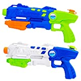 Toybox 2 Pack Super Soaker Water Gun , Water (Squirt) Blaster for Kids. Sprays 30 feet. Great Games for Kids