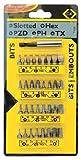 C.K T4520 - Conjunto de clip para puntas de destornillador - 33 piezas