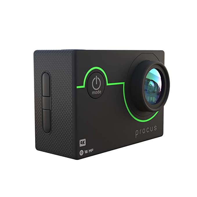 Procus Viper 16MP 4K HD Action Camera Waterproof with Wi Fi Action Cameras