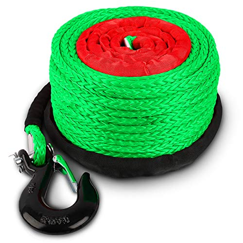 "STEGODON 3/8"" x 100ft Synthetic Winch Rope 23"