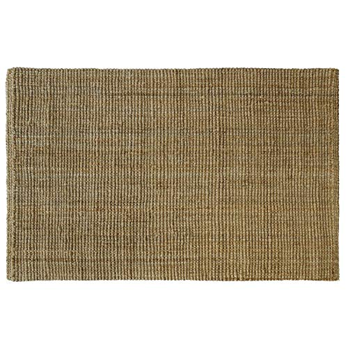 casa pura Jute Teppich Webteppich aus Naturfaser | Moderner Juteteppich | Natürliche Sisal Optik...