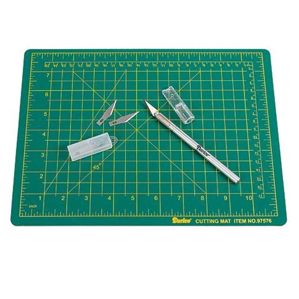 Cutting Mat Set 9 Inch By 12 Inch, Cutter Included