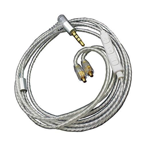 Generis MMCX Cable Mejorar Control Remoto Cable Reemplazo Wire Línea para Shure...