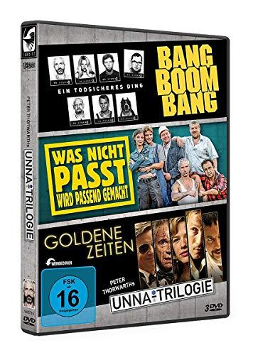 Die Unna-Trilogie: Bang Boom Bang / Was nicht passt, wird passend gemacht / Goldene Zeiten [3 DVDs]