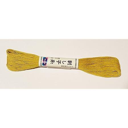 Olympus Color #7 Japanese Cotton Sashiko thread GREEN 20 meter skein