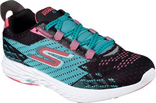 SkechersGo Run Vortex - Scarpe Running, Uomo, Grigio (CCBL), 41.5...