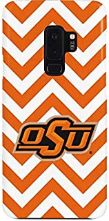 Skinit Lite Phone Case for Galaxy S9 Plus - Officially Licensed College Oklahoma State Chevron Print Design