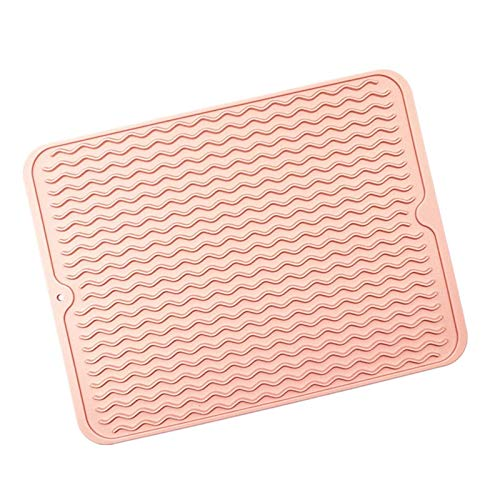 Mantel individual, agarradera, artículos básicos d Conjunto de 4 manteles, alfombrillas de mesa antideslizantes a prueba de calor de silicona, almohadilla de comedor occidental para la fiesta de Navid