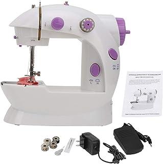 Mini máquina de coser, máquina de coser eléctrica multifu