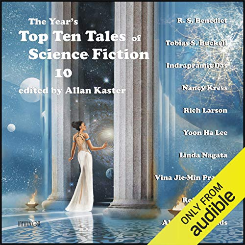 The Year's Top Ten Tales of Science Fiction 10 cover art