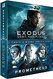 Coffret ridley scott : exodus 3D ; prometheus 3D