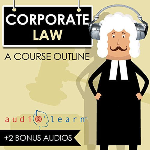 Corporate Law AudioLearn audiobook cover art