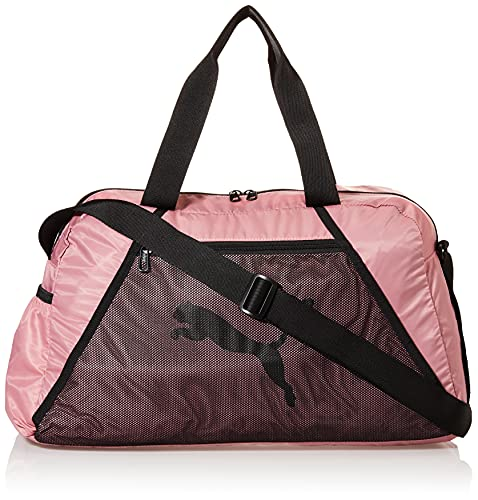 PUMA AT ESS Grip Bag Bolsa Deporte, Mujer, Foxglove Black, OSFA