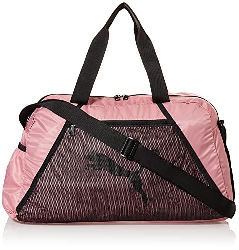 PUMA AT ESS Grip Bag Bolsa Deporte, Mujer, Foxglove/Puma...