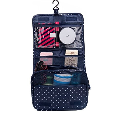 ColorMixs®Portable Travel Toiletry Bag /Portable Travel Waterproof Toiletry Organizer Cosmetic Bag For Woman-Large Capacity For Travel Or Everyday