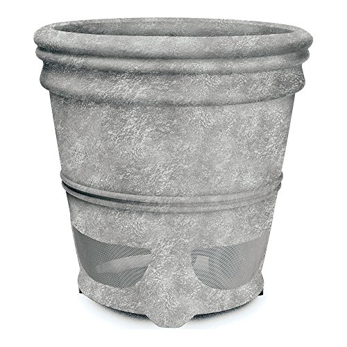 Price comparison product image Niles PS6SI PRO Weathered Concrete 6-inch 2 Way High Performance Planter Loudspeaker (FG01680)