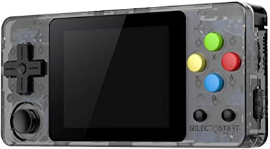 New LDK Game Handheld Gaming Console, Retro Portable Gaming System Handheld Game Console Kids Adults Screen by 2.6 Thumbs Mini Palm Nostalgia Console Children of Family TV Video (2.7 -inch, Gray)
