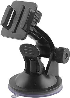 Rörelsekamerafäste 7 cm bilmonterad vindruta sugkopp för Gopro Black