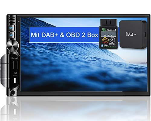 Tristan Auron BT2D7019A Android 10.0 Autoradio mit Navi + OBD 2 DAB+ Box I 7