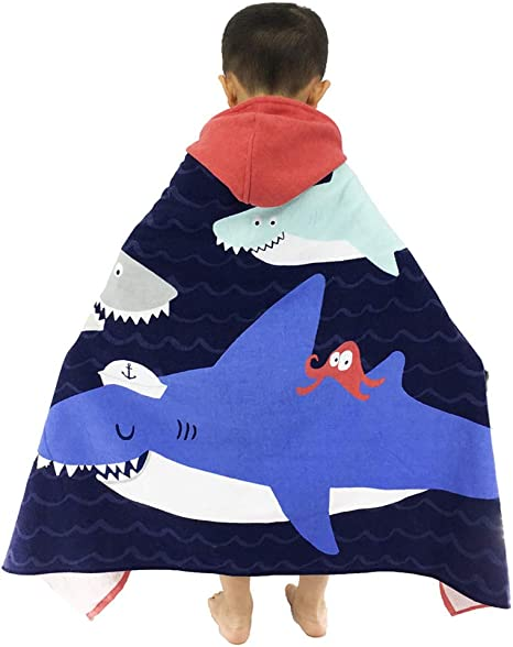 Hooded Towels Childrens Flower Bath Towel for Kids /& Adults