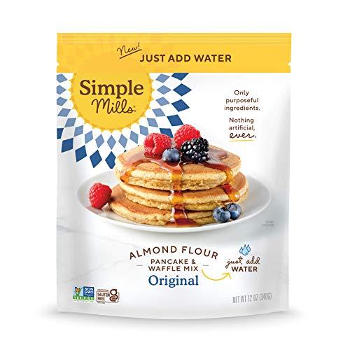 Simple Mills Just Add Water Pancake & Waffle Almond Flour Mix, 12 Oz