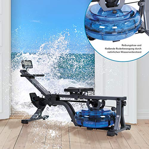 skandika Wasser-Rudergerät Nemo Compact mit regulierbarem Wasserwiderstand - 7