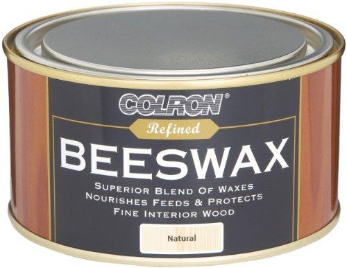 Ronseal CRPBWN4 Colron Raffinierte Bienenwachs-Paste, 400g, Natur