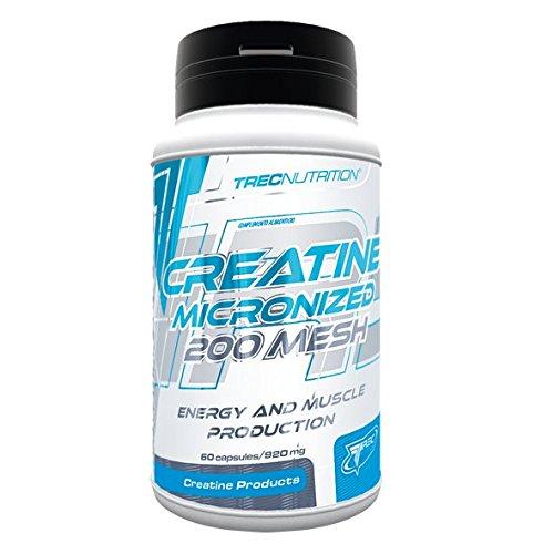 Energía y muscular producción - Creatina -100% micronizada monohidrato de creatina 200 Mesh (60)